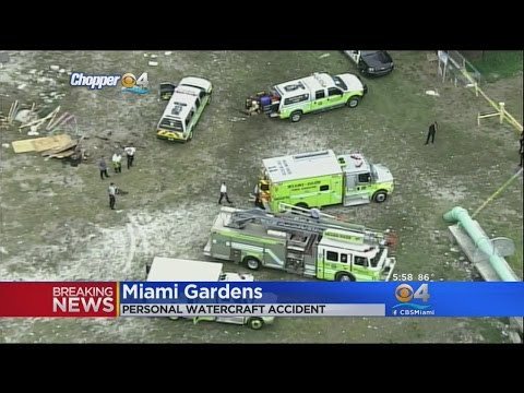 2 Injured In Personal Watercraft Accident In Miami Gardens