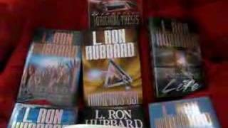 Scientology books being read by Anonymous
