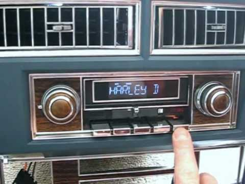 1977 Cadillac 8 Track Radio Avi Youtube