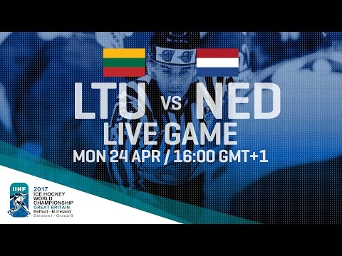Lithuania - Netherlands | Full Game | 2017 IIHF Ice Hockey W