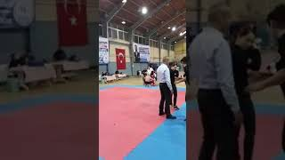 Uğurhan Artam 42 kg minikler point fighting  Ege Şampiyonası
