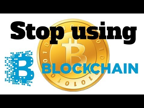 STOP USING BLOCKCHAIN - blockchain tutorial - introduction to blockchain with ethereum hands-on