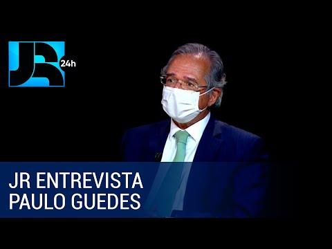 JR Entrevista: ministro Paulo Guedes nega a criação de novo imposto