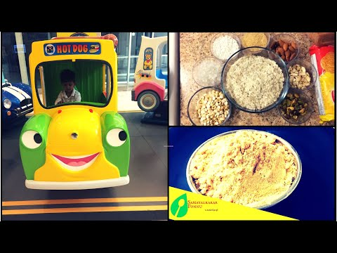 Instant Homemade Travel food for Babies & Toddlers | instant cerelac | porridge recipe for baby
