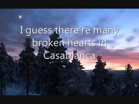 Bertie Higgins   Casablanca Lyrics