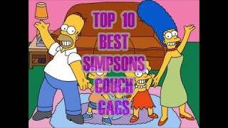 Top 10 Simpsons Couch Gags