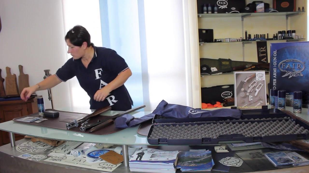 FAIR - Montage d'un fusil de chasse juxtaposé - YouTube