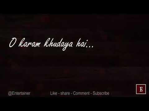 whatsapp status-o karam khuda ya hai