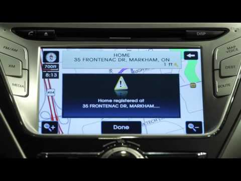 How To Setup Hyundai GPS Navigation System