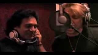Jon Bon Jovi sings