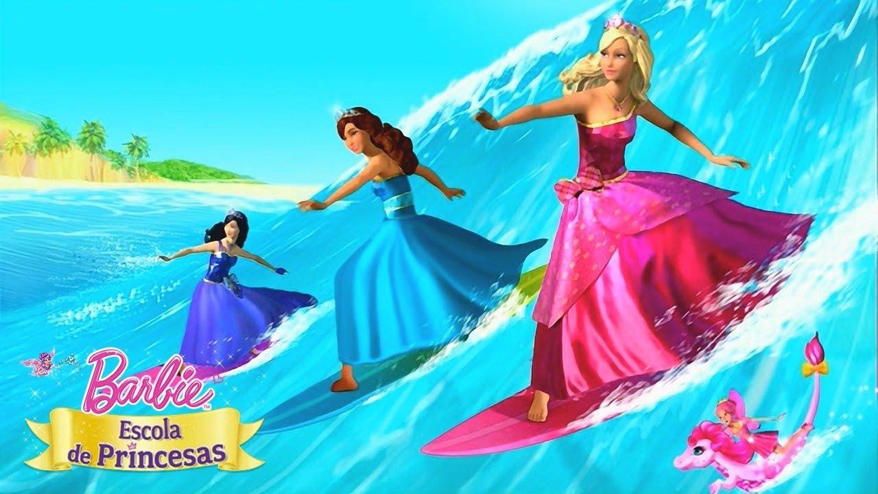 Barbie Escola De Princesas Erros De Gravacao Barbie Filmes