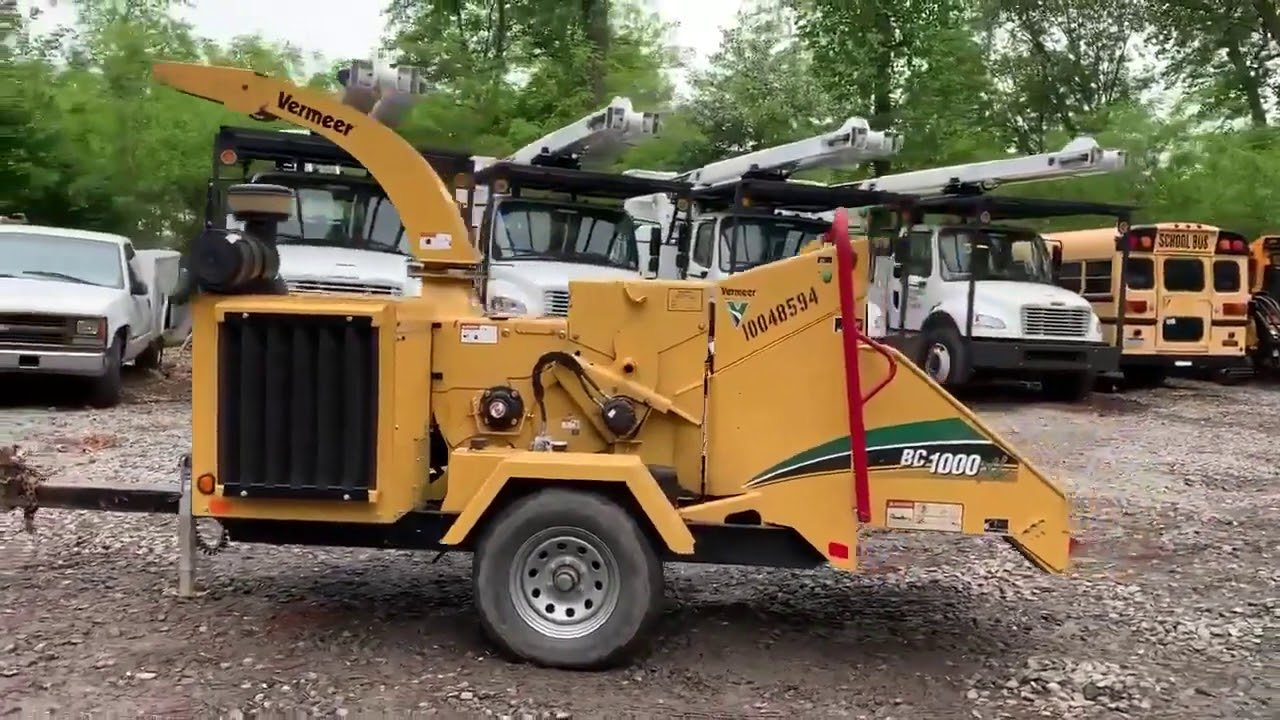 2012 VERMEER BC1000XL For Sale