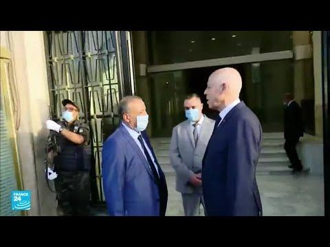 تصريحات حازمة للرئيس التونسي خلال زيارته وزارة الداخلية ..ماذا قال؟