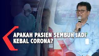 Jakarta, kompas.tv - pemerintah indonesia memberikan kabar baik, ada 4 pasien yang sebelumnya positif virus corona atau covid-19, sudah dinyatakan sembuh pad...