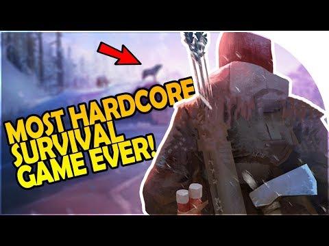MOST HARDCORE SURVIVAL GAME EVER! - PLANE CRASH - The Long Dark WINTERMUTE Episode 1 Gameplay Part 1