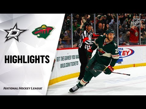nhl-highlights-|-stars-@-wild-1/18/20