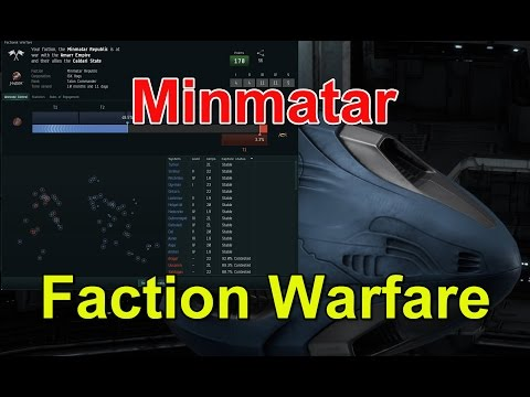 🔴LIVE Faction Warfare Minmatar - Join the Fleet - EVE Online Live Presented in 4k