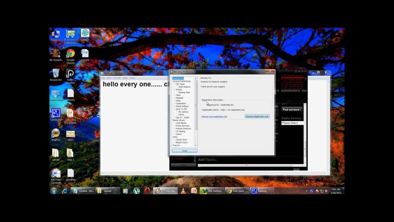 Winamp pro full v5.623 fullversion
