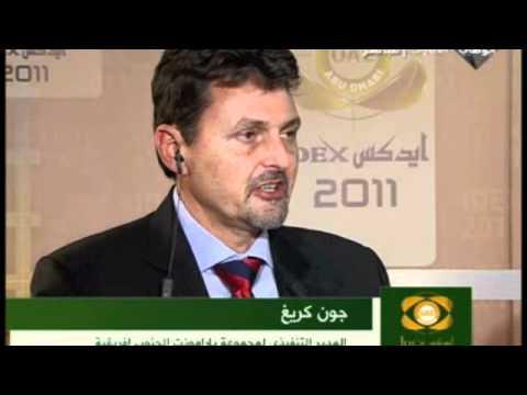 Paramount Group CEO John Craig interviewed on Abu Dhabi TV during IDEX