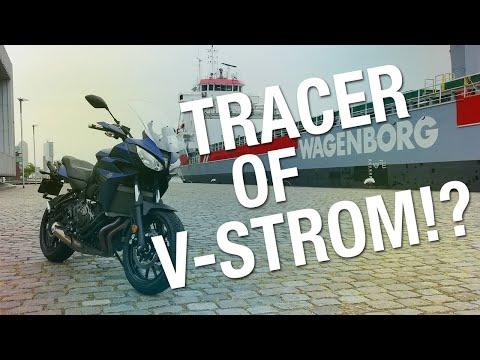 Test/Review: Yamaha Tracer 700 GT vergeleken met de Suzuki V-strom 650 XTA!