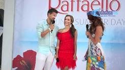 Wayne Carpendale & Annemarie Warnkross über Hochzeitspläne @ Raffaelo Summer Day München 2012