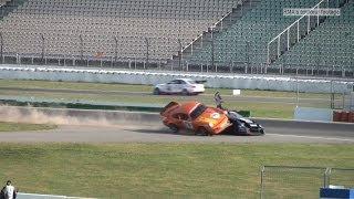 Hockenheim Historic 2014 - STT Qualifying Crash