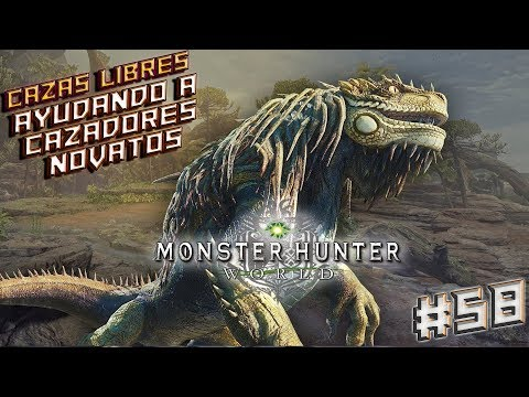 MONSTER HUNTER WORLD - PC - (ESPAÑOL) AYUDANDO A HUNTERS NOVATOS !!! #58 thumbnail