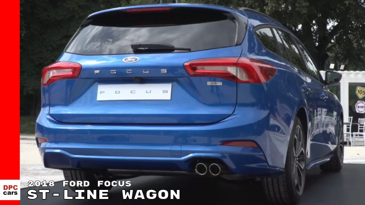 2018 Ford Focus St Line Wagon Youtube