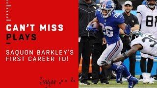 Saquon Barkley Scores 1st Career TD on 68-Yard Run 🔥🔥🔥