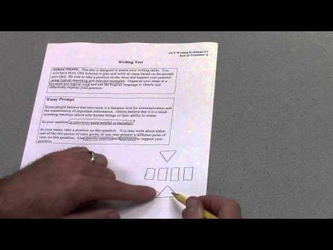 6-Paragraph Timed Argumentative Essay -- Part 1 -- Planning the Essay