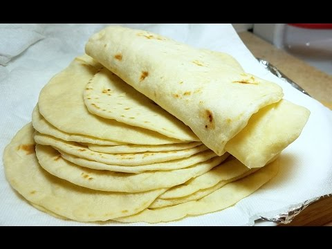How to make Soft Flour Tortillas - Como Hacer Tortillas A Mano