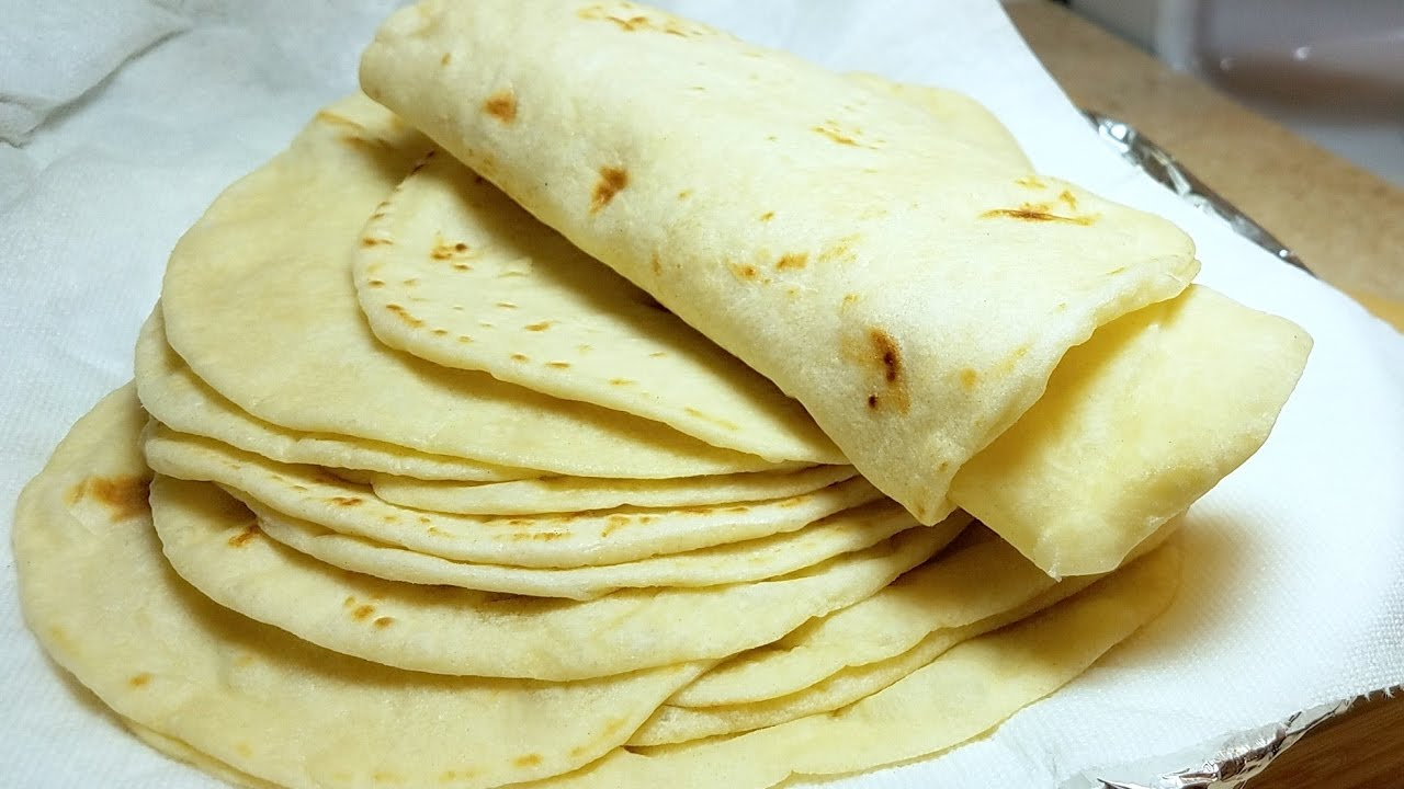 How To Make Soft Flour Tortillas Como Hacer Tortillas De Harina Youtube