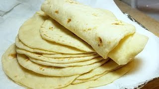 How to make Soft Flour Tortillas | Como Hacer Tortillas de Harina