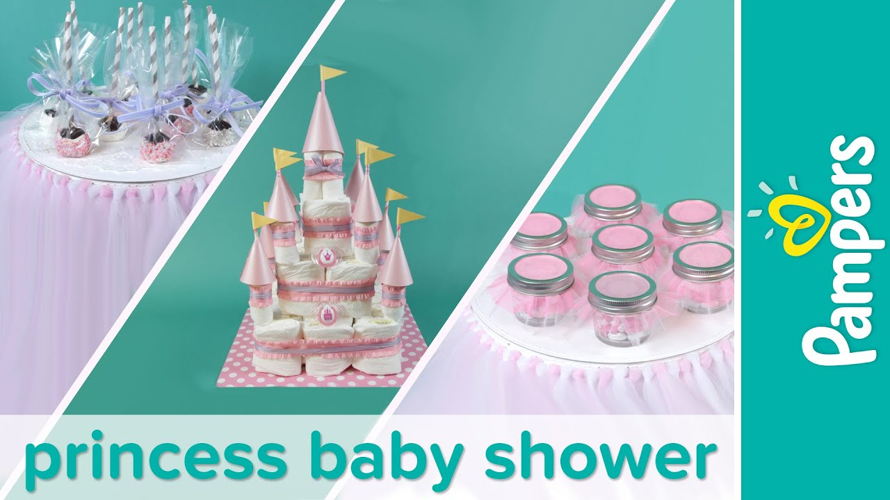 Baby Shower Themes: How To Plan A Princess Baby Shower Party | Pampers    YouTube