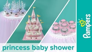 Baby Shower Themes: How to Plan a Princess Baby Shower Party | Pampers