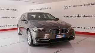BMW Serie 5 525d xDrive Touring Luxury Automatica USATO STRAORDINARIO