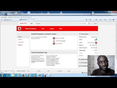 APN Settings For Vodafone R207 , R206 , R205
