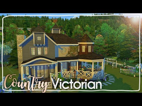 Country Victorian House ~ The Sims 4 Speed Build