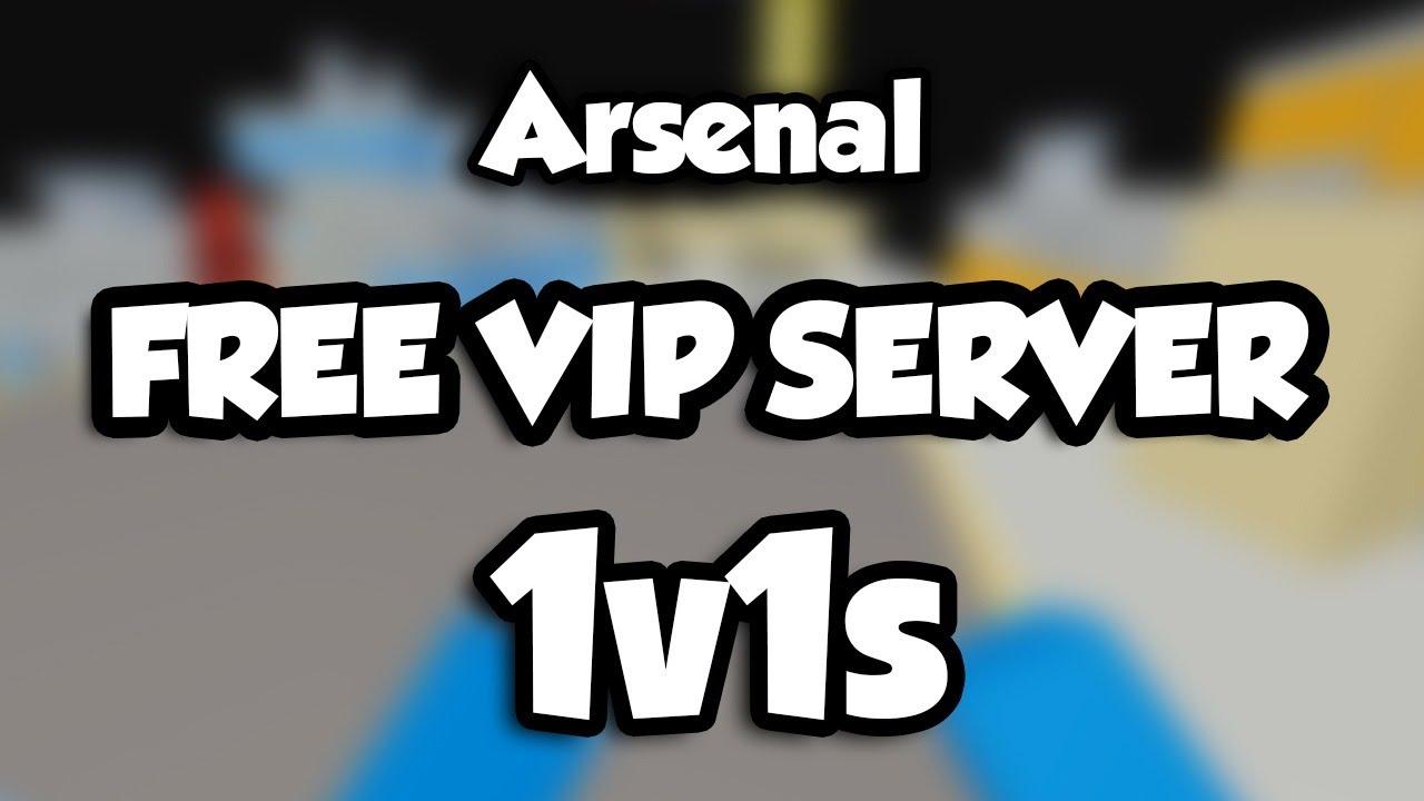 ARSENAL FREE VIP SERVER LINK (2020)   1v1ing FANS ROBUX GIVEAWAY