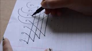 How to draw Saraswati (Saraswati yantra)