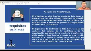 MD2:2017 Transferencia de Certificación Acreditada de Sistemas de Gestión