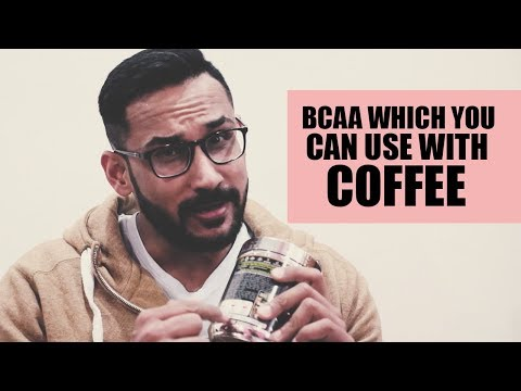 BCAA which you can use in your coffee