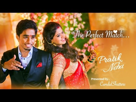The Perfect Match | Wedding Film | CandidShutters | Marathi Wedding | Pune