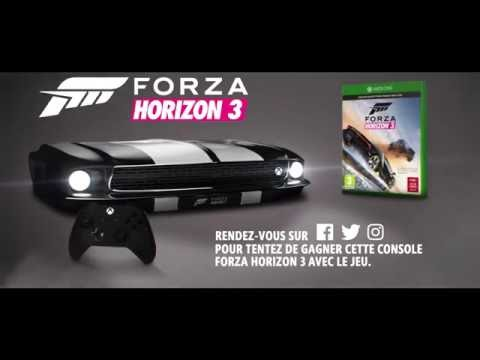 d couvrez la xbox one s forza horizon 3 youtube. Black Bedroom Furniture Sets. Home Design Ideas