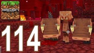 Minecraft: Pocket Edition - Gameplay Walkthrough Part 114 - Nether Update (iOS, Android)