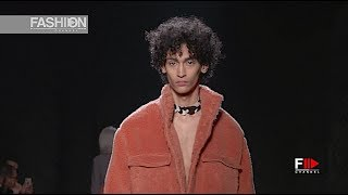 MIAORAN Fall 2018 2019 Menswear Milan - Fashion Channel