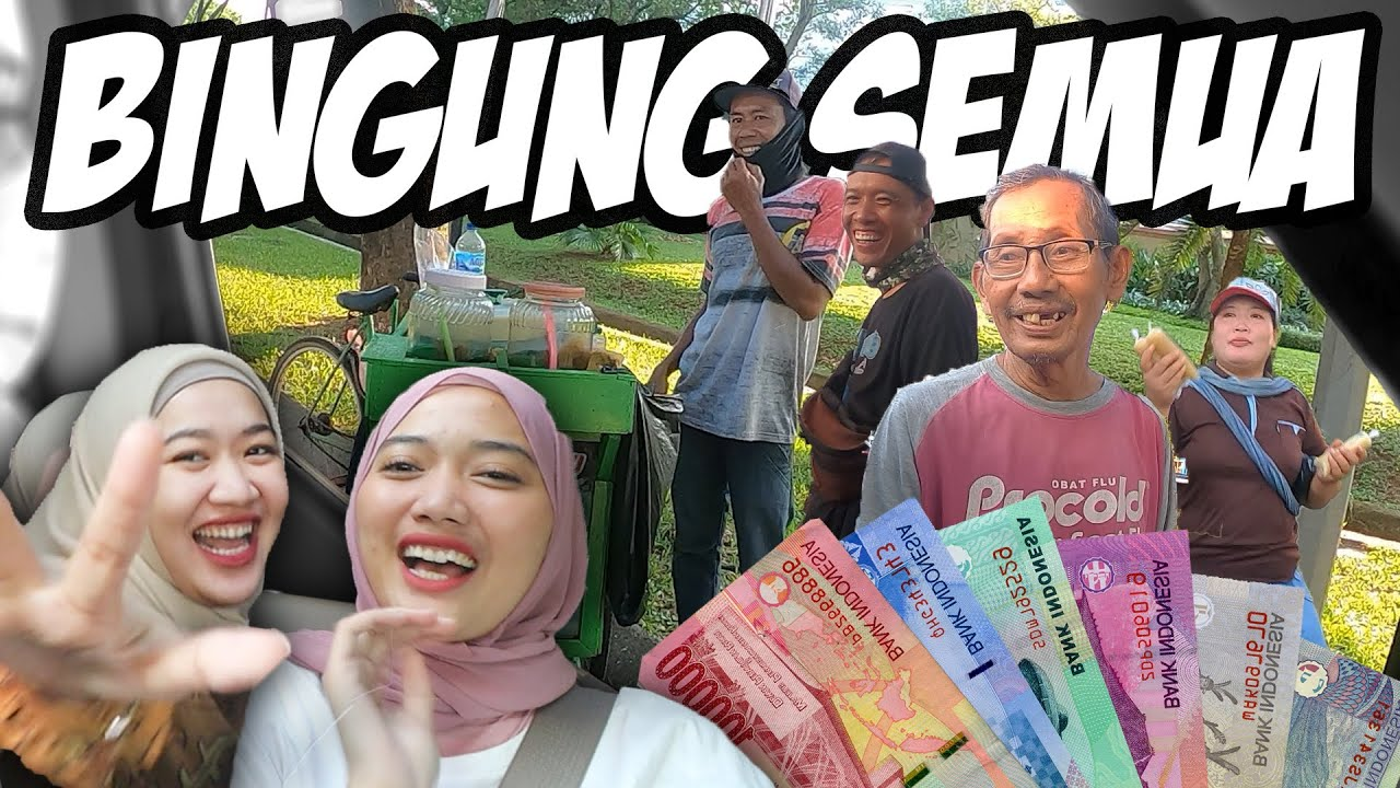 CHALLENGE PEDAGANG KAKI LIMA PILIH HADIAH NYA SENDIRI!!