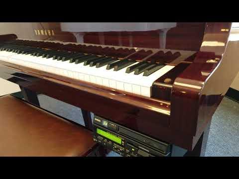 Yamaha DGB1PM 5' GB1 Baby Grand Disklavier Piano MGF 2005 in Indonesia  Mahogany E3 Predecessor