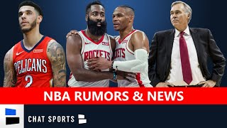 NBA Rumors & News On Mike D'Antoni's Future, Rockets Blowing It Up & Lonzo Ball Signs With Rich Paul