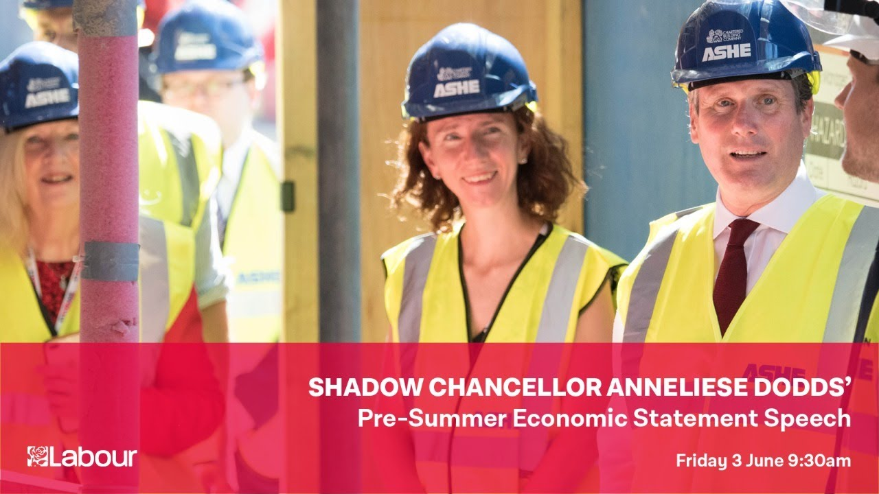 Anneliese Dodds' Pre-Summer Summer Economic Statement Speech